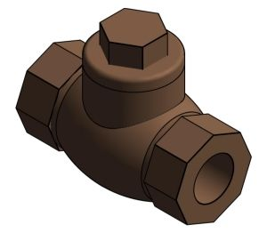 Product: Horizontal Lift Check Valve - (1360)