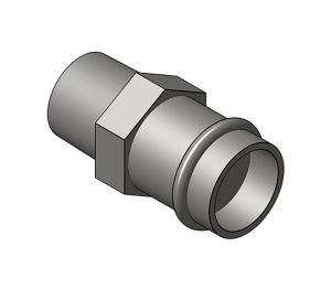 Product: Male Straight Connector - (PS4243G)