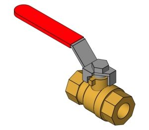 Product: Quarter Turn Ball Valve - (1200)