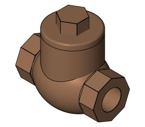 Product: Swing Check Valve - (1470)