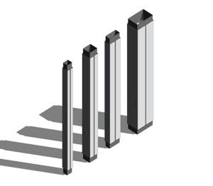 Product: Aluminium Column Casing - Square / Rectangular