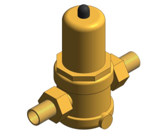 Revit, BIM, Store, Components, Architecture, Object, Free, Download, MEP, Mechanical, Pipe, Accessory, Crane, Fluid, Systems, Valve, PRV, Pressure, Relief, D1716