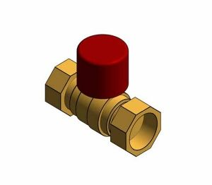 Product: D171ACLS - DZR Ball Valve PN16