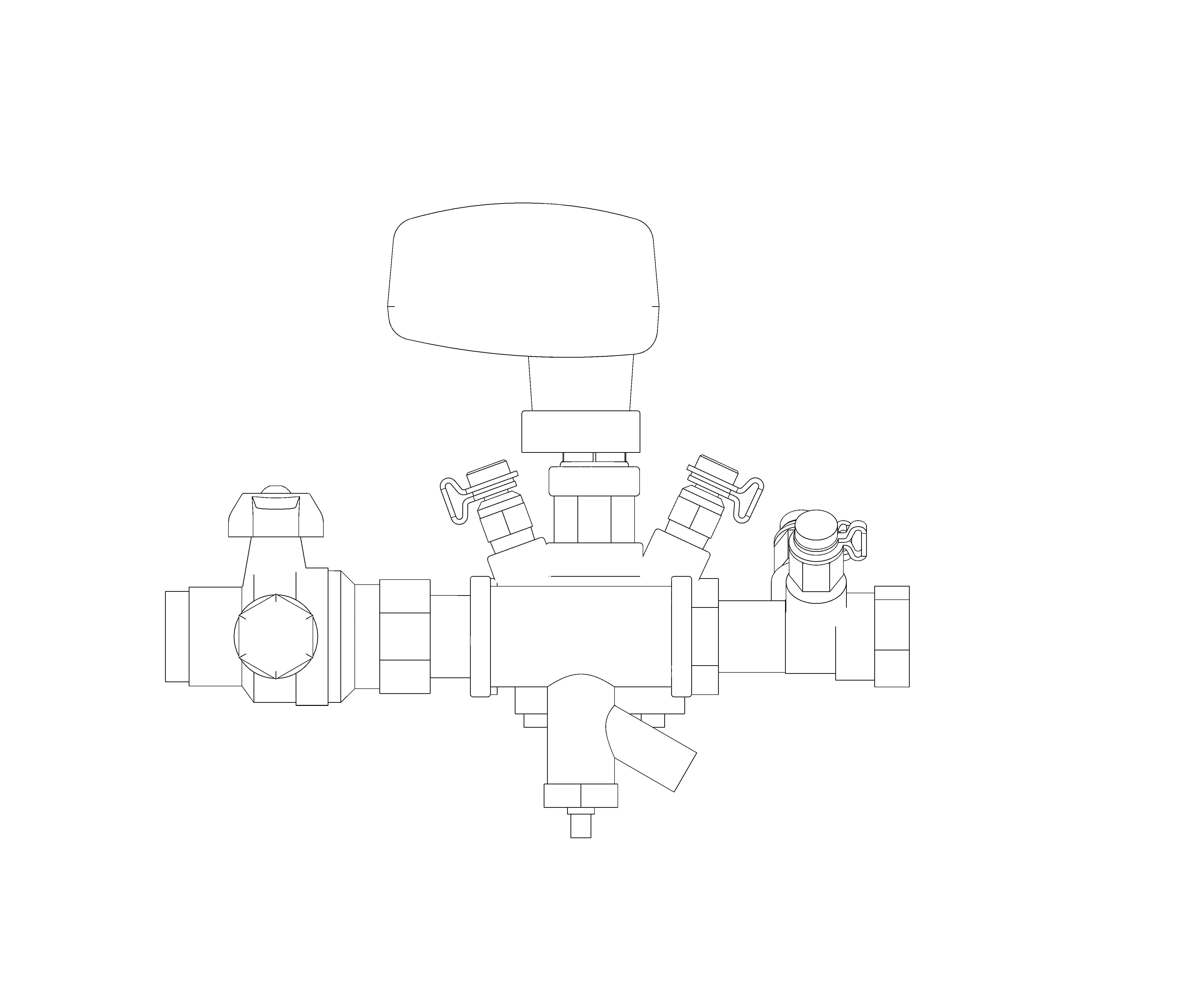 Image of Dominator Peak Pro - PICV / Strainer Drain / FMD - Z9701PF