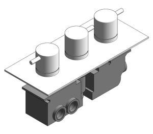 Product: Thermostatic Bath Shower Valve - (PRO3000RC/V)