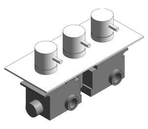 Product: Thermostatic Bath Shower Valve - (PRO3001RC/V)