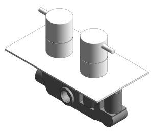 Product: Thermostatic Shower Valve - (PRO1000RC/V)