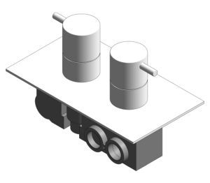 Product: Thermostatic Shower Valve - (PRO1500RC/V)