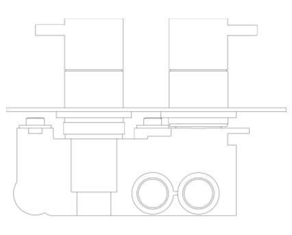 Revit, BIM, Store, Components, MEP, Object, Crosswater, Plumbing, Fixtures, Thermostatic, Shower, Valve, PRO1500RC