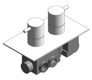 Product: Thermostatic Shower Valve - (PRO1510RC/V)