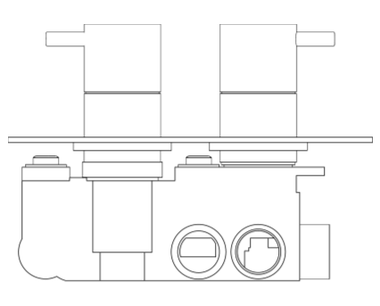 Revit, BIM, Store, Components, MEP, Object, Crosswater, Plumbing, Fixtures, Thermostatic, Shower, Valve, PRO1510RC