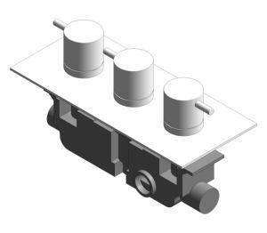 Product: Thermostatic Shower Valve - (PRO2000RC/V)