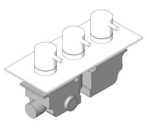 Product: Thermostatic Shower Valve - (PRO2001RC/V)