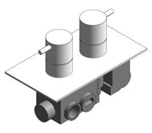 Product: Thermostatic Shower Valve - (PRO2500RC/V)