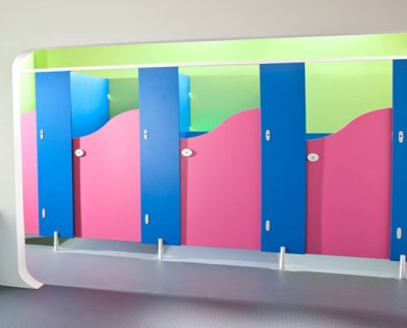 Image of Brecon Junior School Toilets