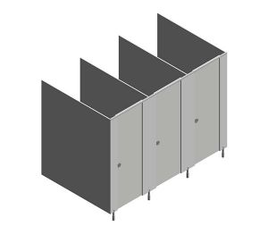 Product: Grampian HPL Toilet Cubicles