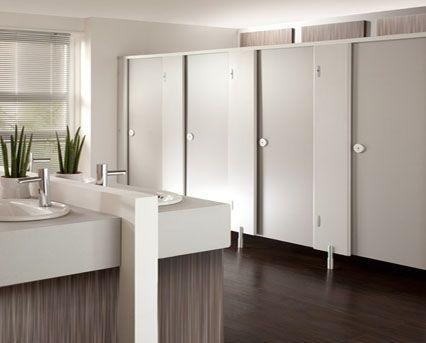 Image of Grampian HPL Toilet Cubicles