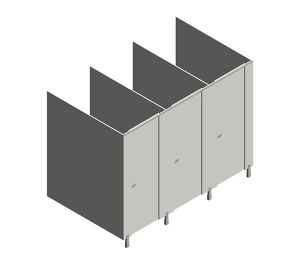 Product: Pennine Budget Toilet Cubicles