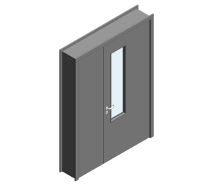Product: 44mm Thick - Leaf Half Internal Door