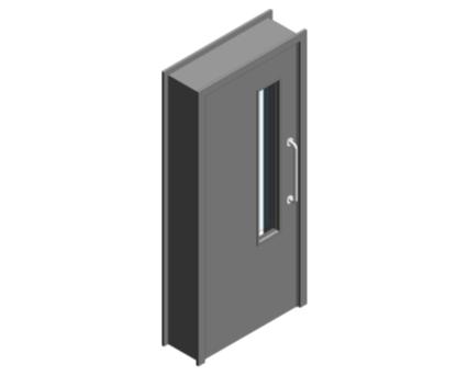 Revit, BIM, Download, Free, Components, Object, Door, Doorset, Bespoke, CW, Fields, and, Son, Limited, 44mm, Thick, Single, Internal, Door