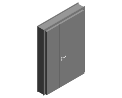 Revit, BIM, Download, Free, Components, Object, Door, Doorset, Bespoke, CW, Fields, and, Son, Limited, 64mm, Thick, Leaf, Half, Internal
