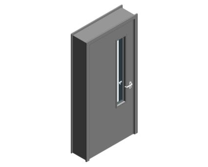 Revit, BIM, Download, Free, Components, Object, Door, Doorset, Bespoke, CW, Fields, and, Son, Limited, 64mm, Thick, Single, Internal, Door