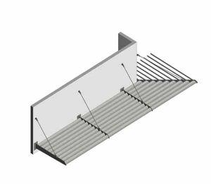 Product: Brise Soleil - 100 Blade - Mid Grey