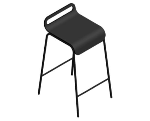 Revit, BIM, Furniture, Family, UK, British, Furnishings, Seating, Interior, Design, deadgood, dead, good, Form, chair, stool