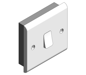 Product: Slimline - 10A Plate Switches