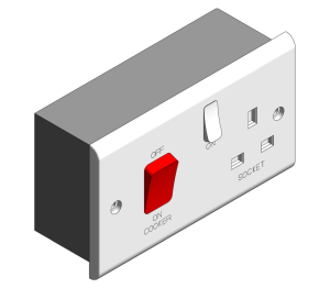 Product: Slimline - 45A Cooker Control Units