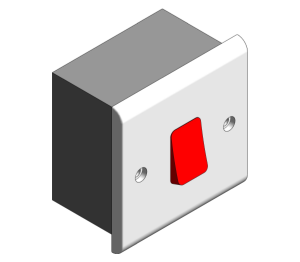 Product: Slimline - 45A DP Switches