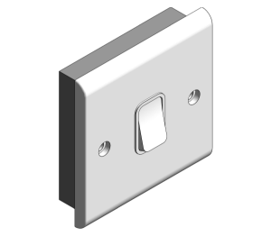 Product: Slimline Décor - 10A Plate Switches