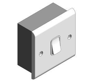 Product: Slimline Décor - 20A DP Switches