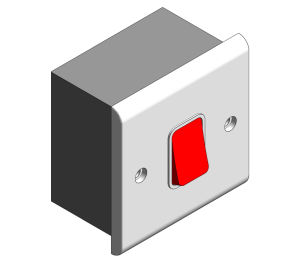 Product: Slimline Décor - 45A DP Switches