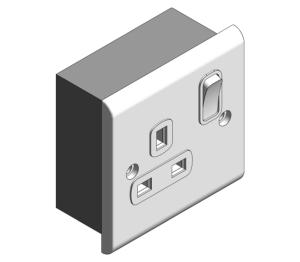 Product: Slimline Décor - Socket Outlets