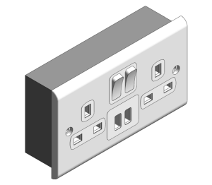 Product: Slimline Décor - USB Charging Sockets