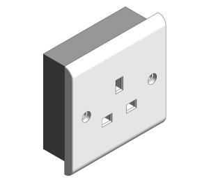 Product: Slimline - Socket Outlets