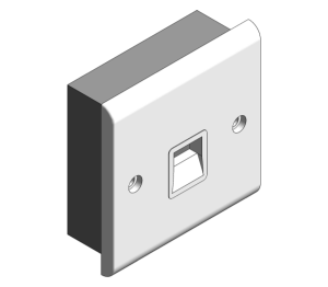 Product: Slimline - Telephone Outlets