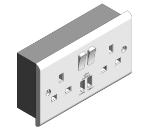 Product: Slimline - USB Charging Sockets