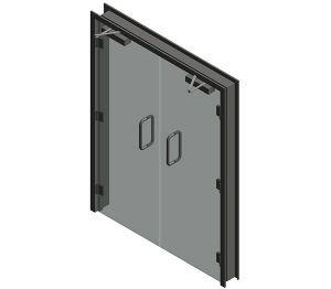 Product: Dortek Glass Hinged Doors