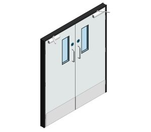 Product: Dortek Hygienic Hinged Doors - Fire Rated