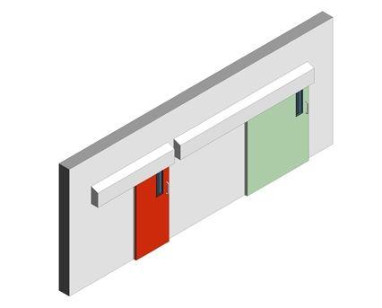 Bim, Revit, 2014, Components, Frame, Dortek, Doors, Stainless, Steel, Hygienic, Internal, Sliding