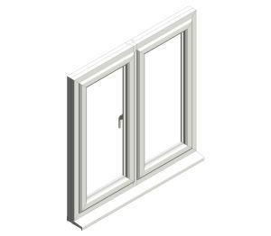 Product: Diamond Suite - Casement - Side Hung Double