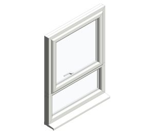Product: Diamond Suite - Casement - Top Hung over Fixed