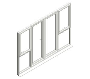 Product: Diamond Suite - French Door - Open In - Window Combo