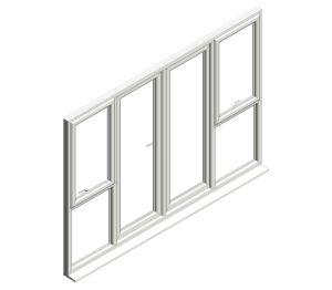 Product: Diamond Suite - French Door - Open In - Window Combo
