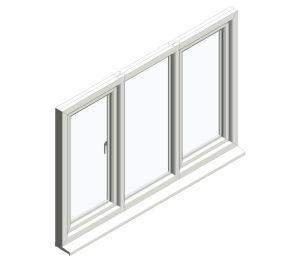 Product: Diamond Suite - Tilt Turn Next to Fixed Next to Tilt Turn
