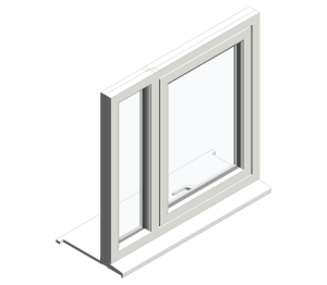 Product: Top Swing Fixed Next to Single Window
