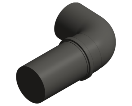 Bim, BIM, Store, Revit, Durapipe, Pipe, Pipes, Fitting, Accessories, Valves, Friaphon, 110mm, Cushioning, Section, Short