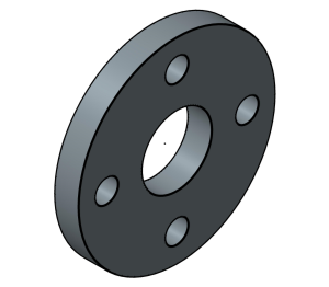 Product: PVC - Backing Flange
